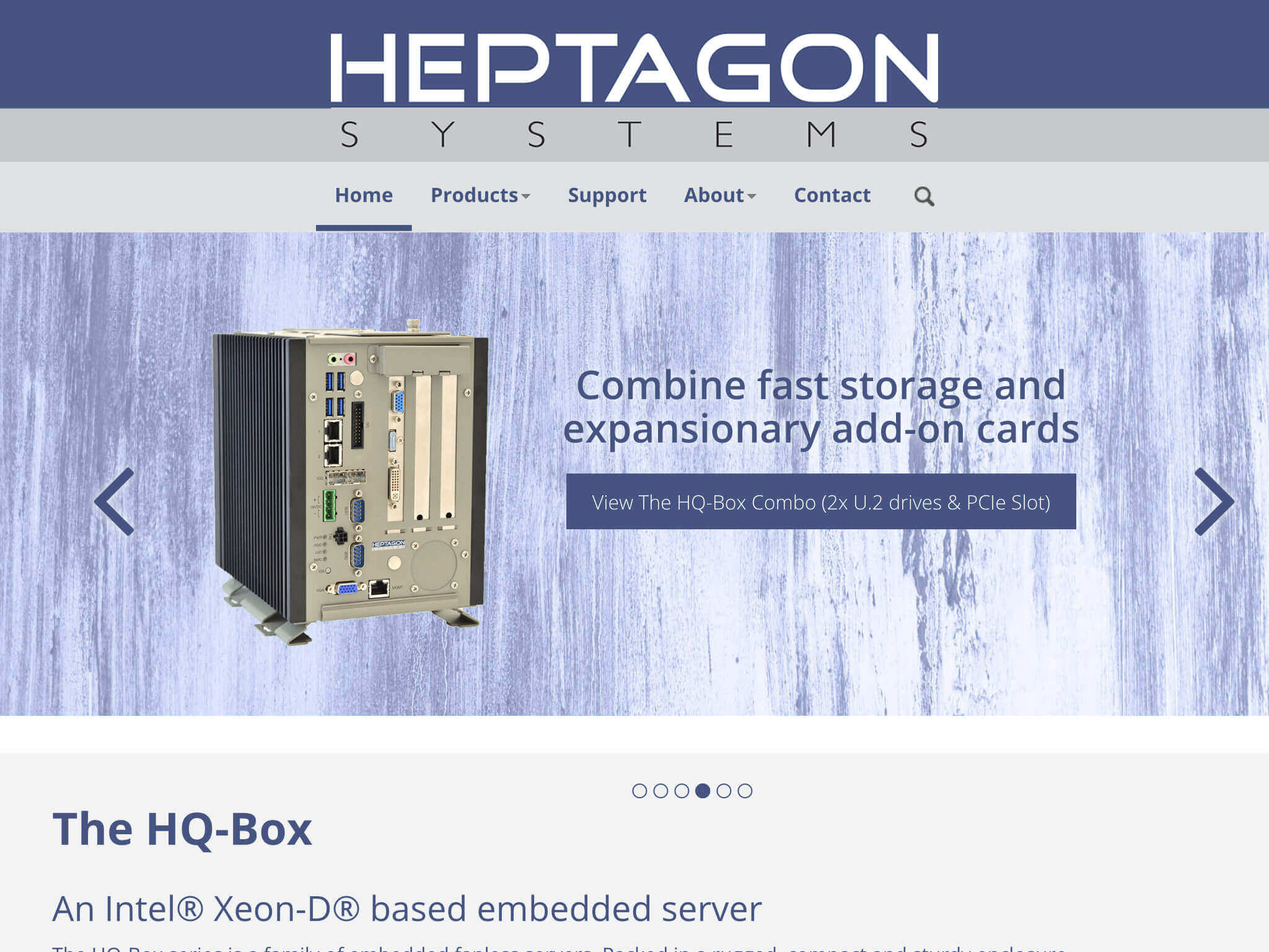 Webdesign - heptagon systems